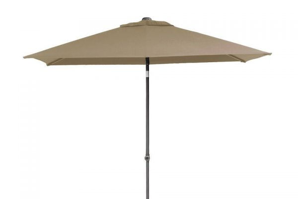Parasol 200 x 250 cm Push up Taupe 4 Seasons Outdoor
