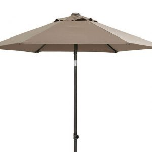 Parasol 250 cm Push up Taupe 4 Seasons Outdoor