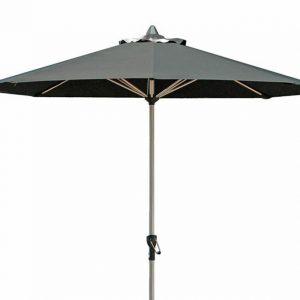 Fonteyn Collectie Parasol 270 cm Sun RVS Look-Black Fonteyn