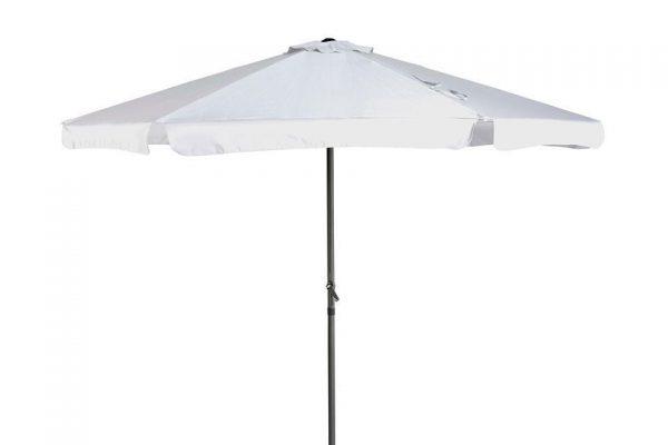 Parasol 300 cm Antigua Wit Platinum