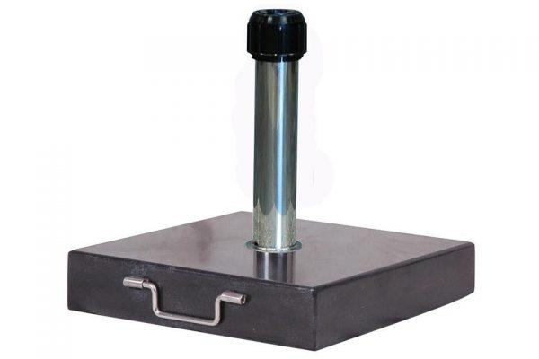 Parasolvoet Rome 40 kilo Graniet Platinum