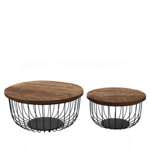 Brix Salontafelset Eva set of 2