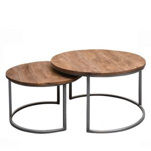 Brix Salontafelset Jamie set of 2