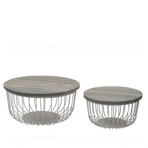 Brix Salontafelset Kate set of 2