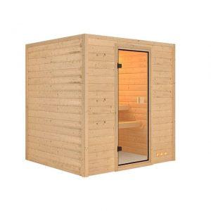 Sauna actiemodel Silke - Karibu