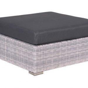 Tennessee bijzettafel - voetenbank 100x100 cm licht grijs