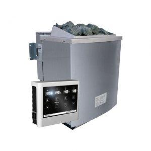 Spaarset bio-combikachel 9 kW incl. bedieningspaneel Easy - Karibu