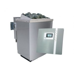 Spaarset bio-combikachel 9 kW incl. bedieningspaneel Premium - Karibu