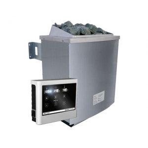 Spaarset saunakachel 9 kW incl. bedieningspaneel Easy - Karibu