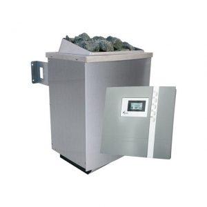 Spaarset saunakachel 9 kW incl. bedieningspaneel Premium - Karibu