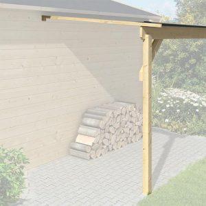 Tuindeco blokhut zijluifel 150x275 cm