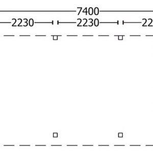 Nvt Tuinhuis / Blokhut Trendhout Buitenverblijf Mensa L 7400mm A