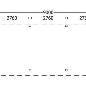 Nvt Tuinhuis / Blokhut Trendhout Buitenverblijf Refter XL 9000mm A