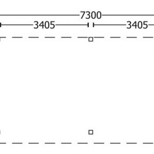 Nvt Tuinhuis / Blokhut Trendhout Buitenverblijf Refter XXL 7300mm A
