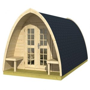 Tuinhuis/Blokhut Tuindeco - Pod Camping double / Pod Office double / Pod 480
