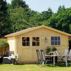 OLP Tuinhuis / Chalets Blokhut Outdoor Life Products Anna 380 x 200 cm