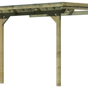 Tuinhuis Karibu Model 1 Maat A Hogedruk Geïmpregneerd