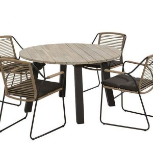 4 Seasons Outdoor Tuinset Scandic Rond Rope 4SO