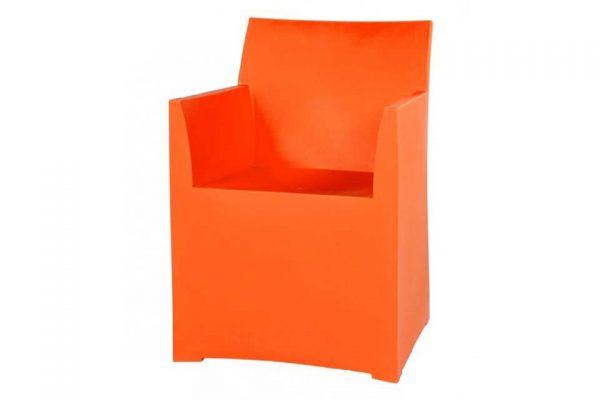 Tuinstoel-Eetstoel Color - Oranje - Haans