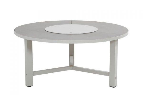Tuintafel 160 cm Diva Aluminium Seashell 4 Seasons Outdoor