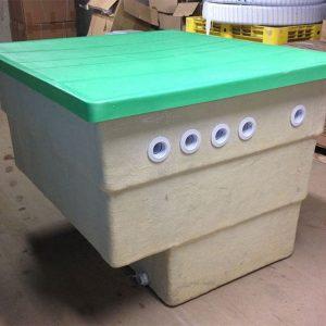 Passion Zandfilterinstallatie in een afsluitbare polyester box