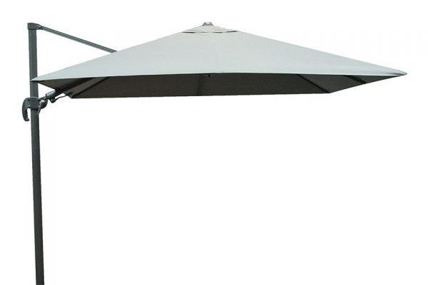 Zweefparasol 300 x 300 cm Shadow - Antraciet/Grey - Fonteyn Collectie