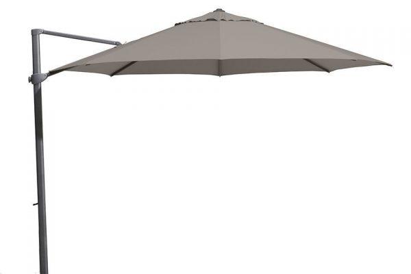 Zweefparasol 350 cm Siesta Antraciet-Taupe 4 Seasons Outdoor