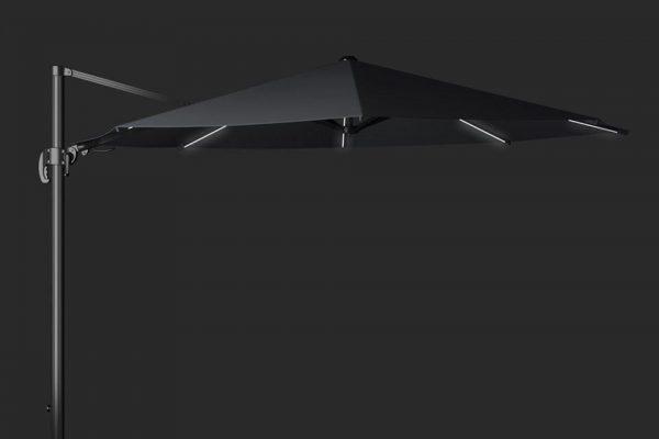 Zweefparasol 350 cm Solarflex T2 Antraciet Platinum