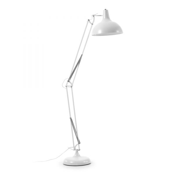 LaForma Levi Floor Lamp Metal - verstelbare lamp, bureaulamp groot