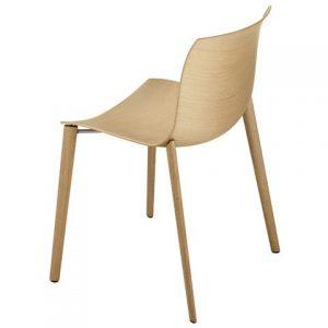 Arper Catifa 53 Wood stoel