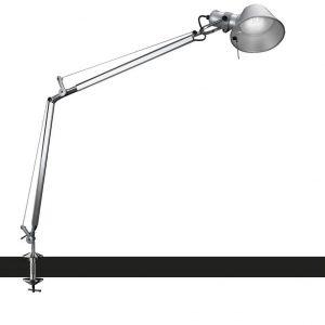 Artemide Tolomeo bureaulamp Halo met tafelklem