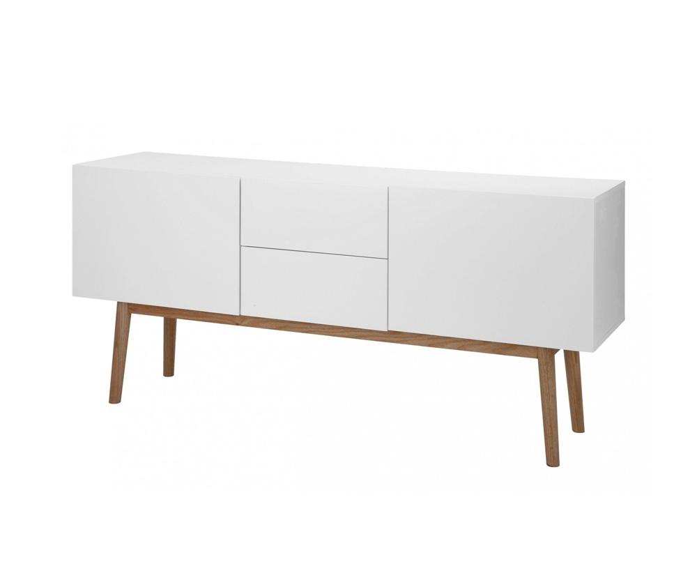 Witte Dressoir Kasten.Lisomme Scandinavisch Dressoir Roos 150 Cm Wit Tv Sideboard