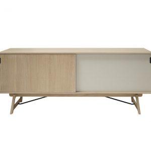 Artichok Scandinavisch dressoir - Sophia - 180 cm - eikenhout- Sideboard - Eikenhouten TV meubel
