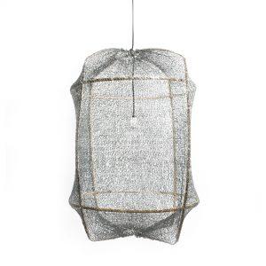 Ay illuminate Z1 hanglamp grijs sisal