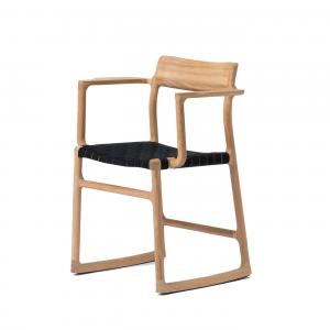Gazzda Fawn armchair - Houten armstoel - Naturel -