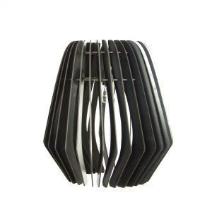 Bomerango Spin lamp | Large | Zwarthouten Scandinavische design lamp