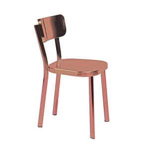 Initial Carisma - Eetkamerstoel - Koper- koperen stoel