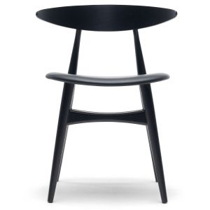 Carl Hansen & Son CH33 stoel met zitkussen gekleurd beuken loke 7150