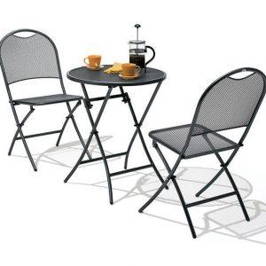Bistroset Café Latte - Iron Grey - SUNS