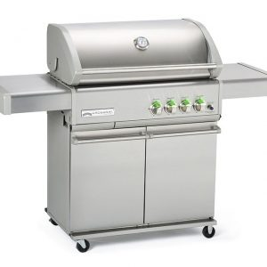 Grandhall Heatstrip Crossray Barbecue Cart 304