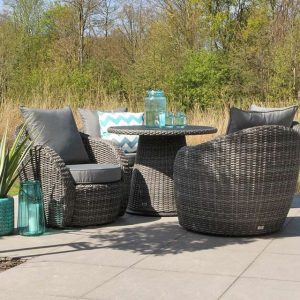 Lounge-Diningset Lotus Charcoal Artie