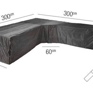 Platinum Loungesethoes L Trapeze 300 x 300 x 100 x 71(H) cm AeroCover