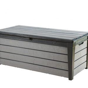Opbergbox/Kussenbox Brushwood Antraciet Keter
