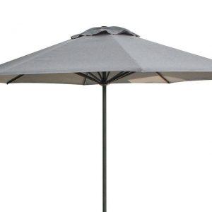 Parasol 350 cm Solar De Luxe - Antraciet / Faded Grey - Fonteyn Collectie