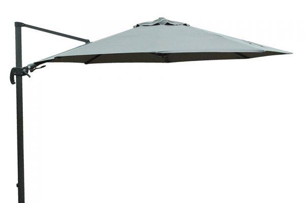 Fonteyn Collectie Shadow Zweefparasol 350 cm. Grey Fonteyn