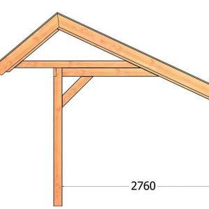 Nvt Tuinhuis / Blokhut Trendhout Kapschuur De Stee L 7400mm D