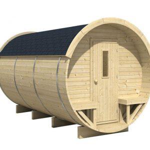 Tuinhuis/Blokhut Tuindeco - Barrel Camping / Barrel Office