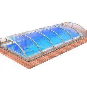 Zwembadoverkapping Klasik Clear B - Albixon