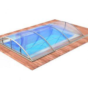 Zwembadoverkapping Klasik Smart A - Albixon