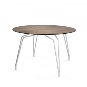 Kubikoff Diamond Table - Ronde eettafel - Wit -